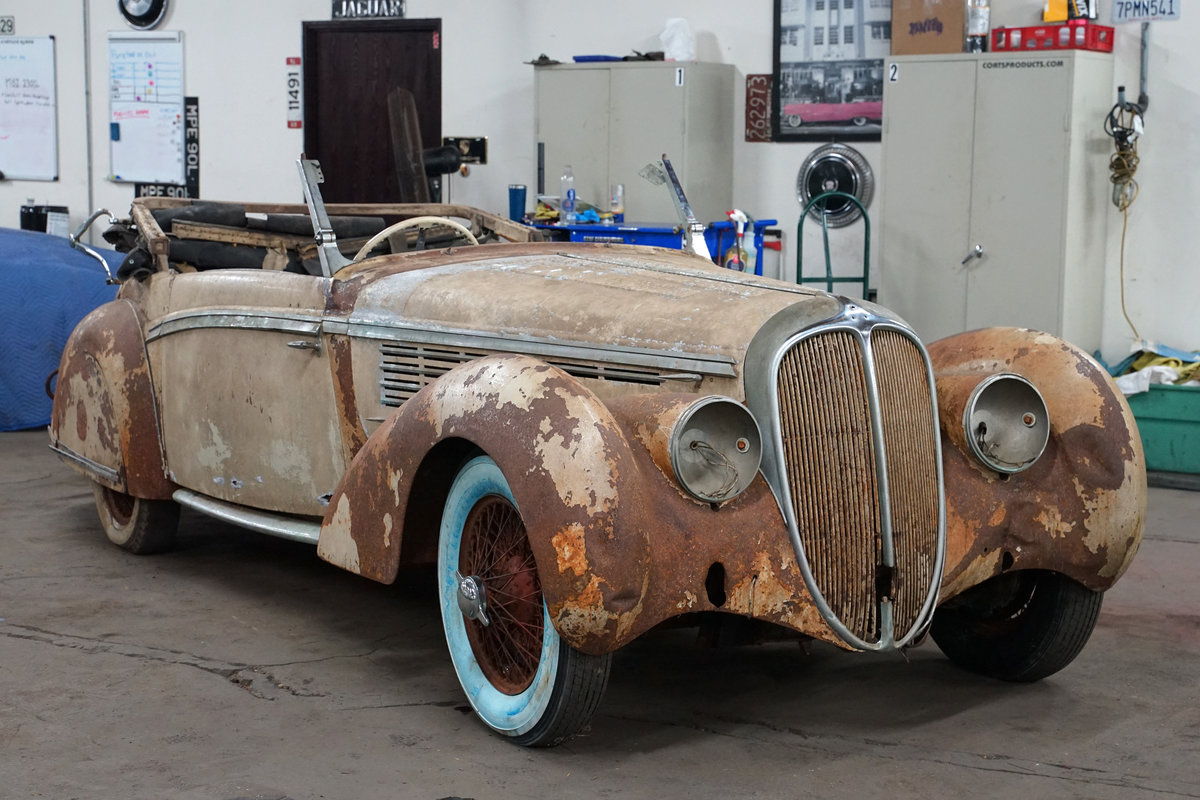1939 Delahaye 135M Cabriolet For Sale (picture 1 of 4)