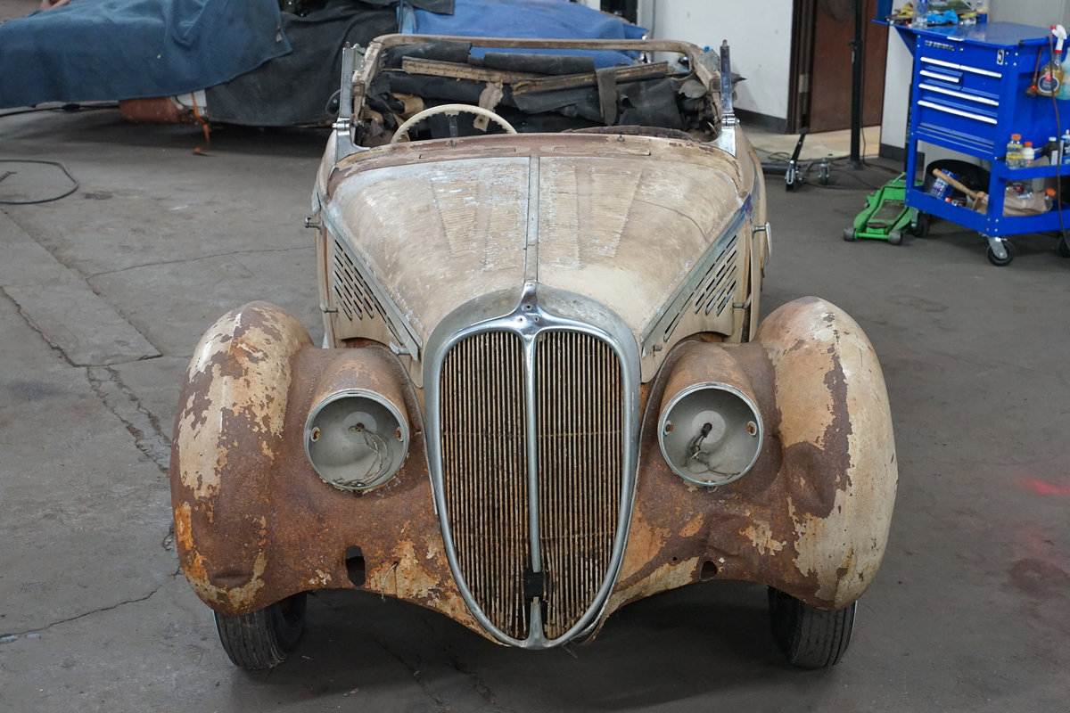 1939 Delahaye 135M Cabriolet For Sale (picture 2 of 4)