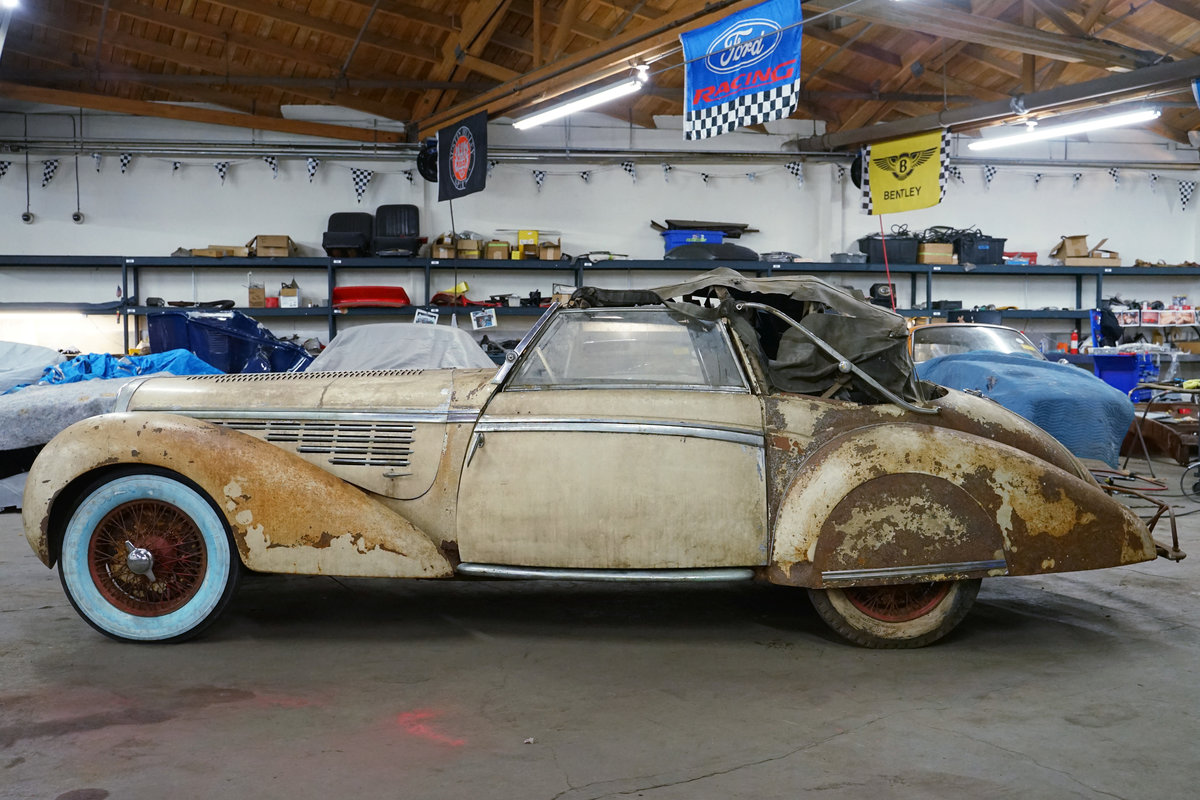 1939 Delahaye 135M Cabriolet For Sale (picture 4 of 4)