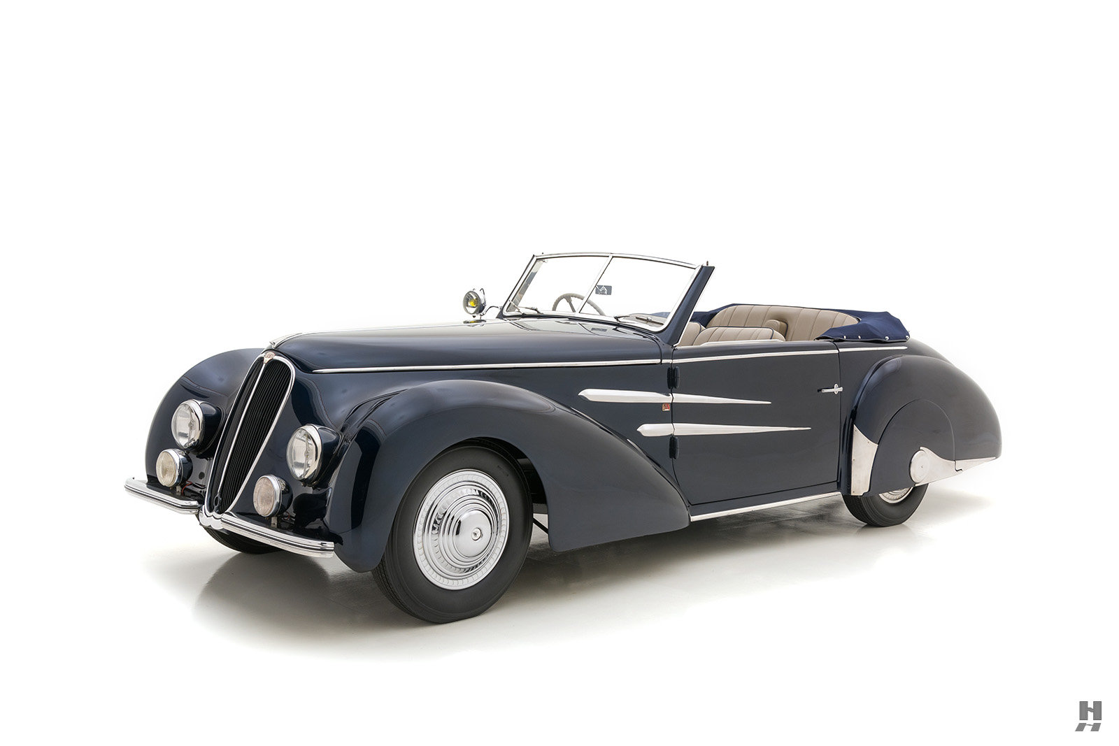 1946 Delahaye 135M Drophead Coupe By Worblaufen For Sale (picture 1 of 6)