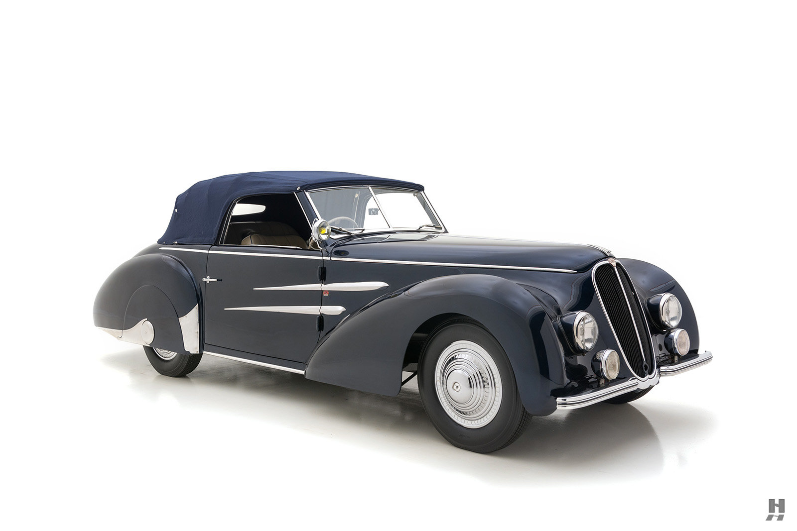 1946 Delahaye 135M Drophead Coupe By Worblaufen For Sale (picture 2 of 6)
