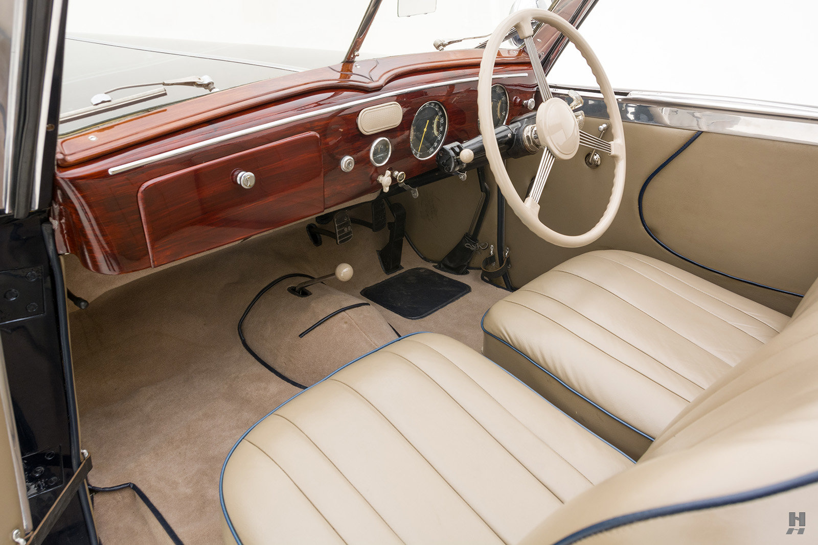 1946 Delahaye 135M Drophead Coupe By Worblaufen For Sale (picture 5 of 6)