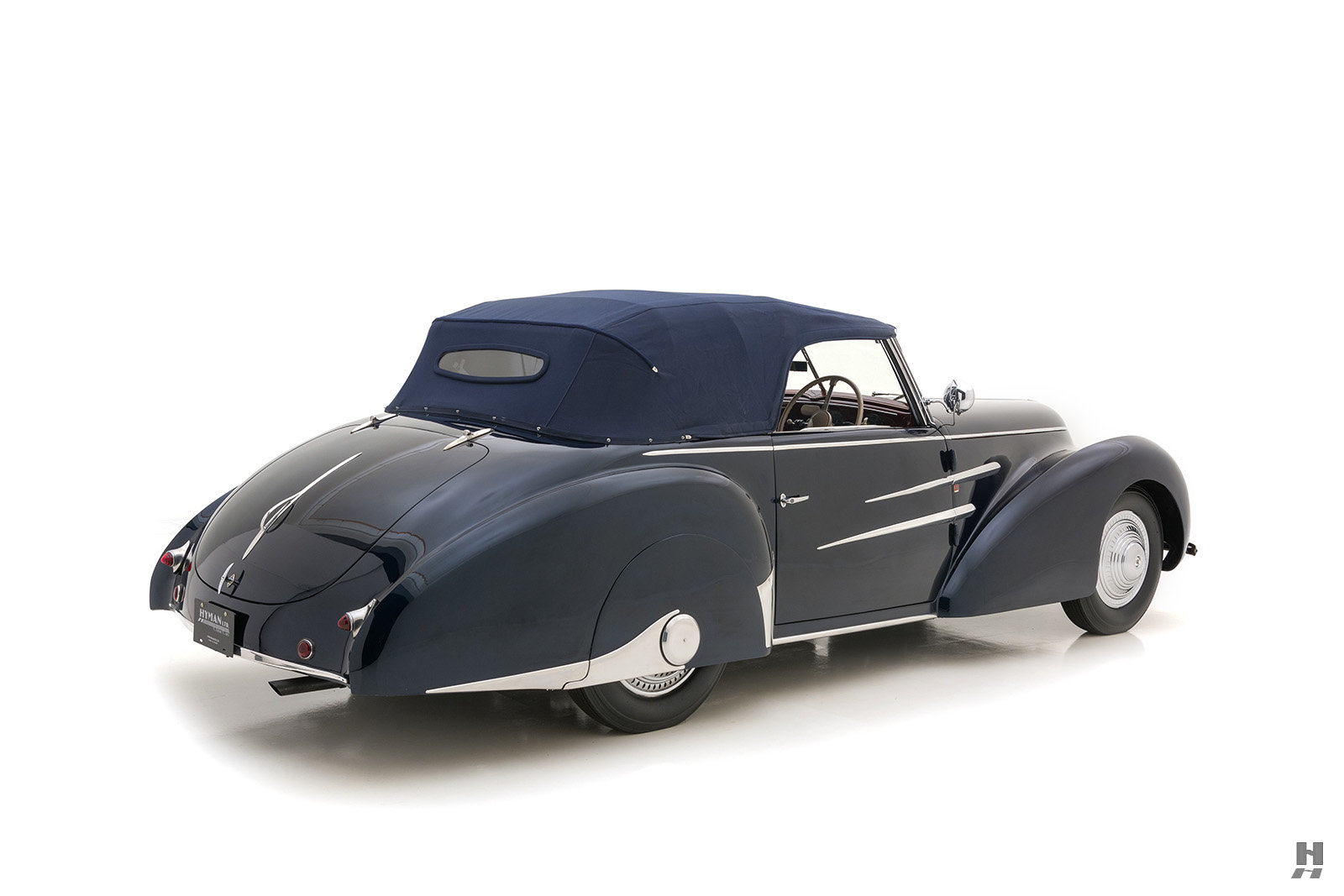 1946 Delahaye 135M Drophead Coupe By Worblaufen For Sale (picture 6 of 6)