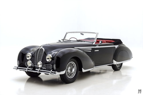 1948 Delahaye Type 135M Cabriolet For Sale (picture 1 of 6)