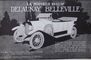 Picture of 1924 Delaunay-Belleville 10-12hp tourer - for restoration