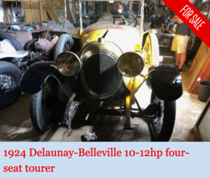Picture of 1924 Delaunay-Belleville 10-12hp tourer For Sale