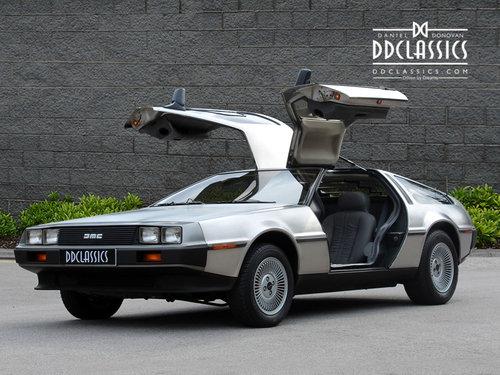 1981 DeLorean DMC-12 LHD SOLD (picture 1 of 6)