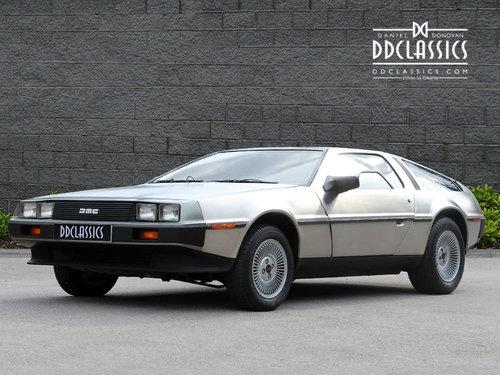 1981 DeLorean DMC-12 LHD SOLD (picture 2 of 6)