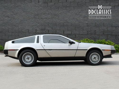 1981 DeLorean DMC-12 LHD SOLD (picture 3 of 6)
