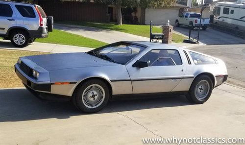 1981 DeLorean - 1 owner - 25,000 miles For Sale (picture 1 of 5)
