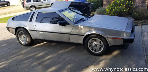 1981 DeLorean - 1 owner - 25,000 miles For Sale (picture 2 of 5)