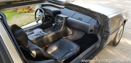 1981 DeLorean - 1 owner - 25,000 miles For Sale (picture 4 of 5)