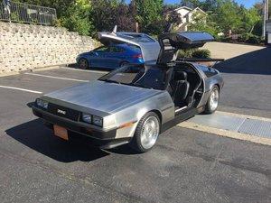 1981  DeLorean DMC-12 = HotRod many mods Rare 1 off $76.5k For Sale