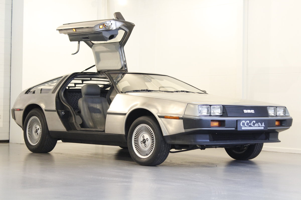 1982 Delorean DMC 12 Automatic For Sale (picture 1 of 6)