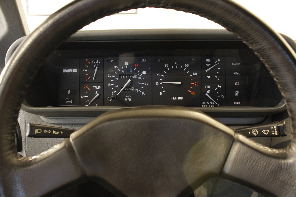 1982 Delorean DMC 12 Automatic For Sale (picture 6 of 6)