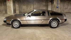 1981  DeLorean = 5 speed Manual low 36k miles Clean $49.9k