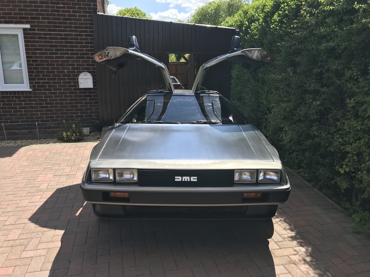 1981 Delorean DMC12 Running driving project car SOLD (picture 1 of 6)