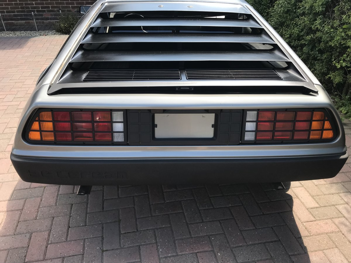 1981 Delorean DMC12 Running driving project car SOLD (picture 2 of 6)