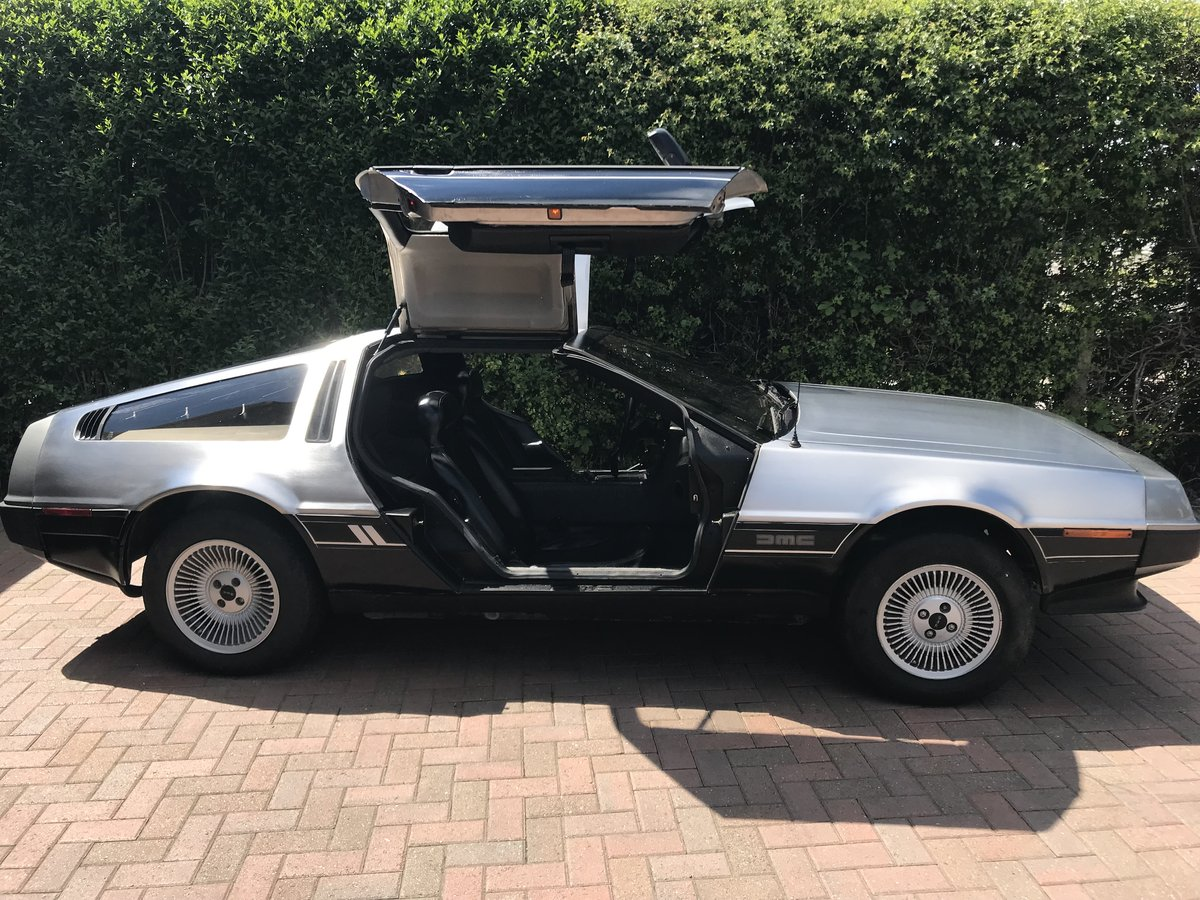1981 Delorean DMC12 Running driving project car SOLD (picture 4 of 6)