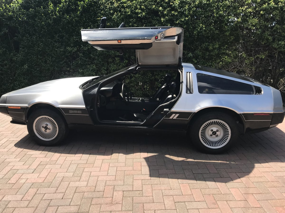 1981 Delorean DMC12 Running driving project car SOLD (picture 5 of 6)