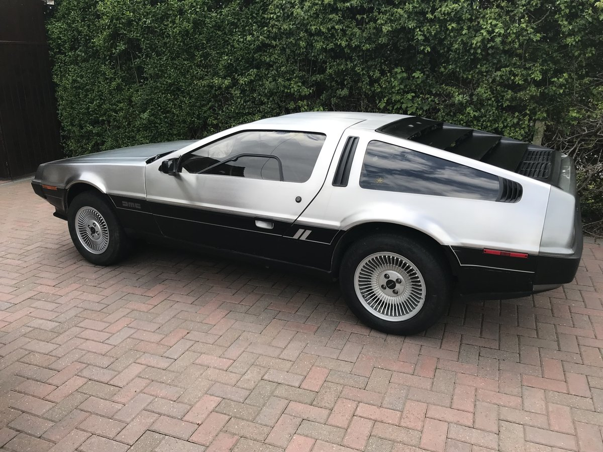 1981 Delorean DMC12 Running driving project car SOLD (picture 6 of 6)