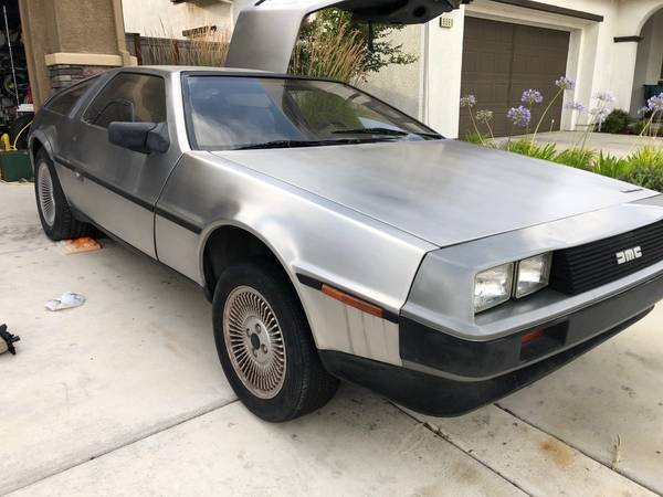 1981 DMC DeLorean = Manual Dry Project 45k miles $23.5k For Sale (picture 1 of 6)