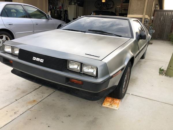 1981 DMC DeLorean = Manual Dry Project 45k miles $23.5k For Sale (picture 2 of 6)