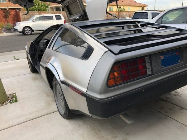 1981 DMC DeLorean = Manual Dry Project 45k miles $23.5k For Sale (picture 3 of 6)