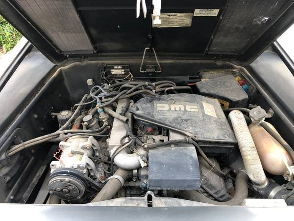 1981 DMC DeLorean = Manual Dry Project 45k miles $23.5k For Sale (picture 6 of 6)
