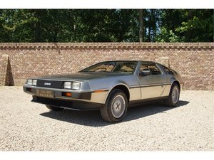 1981 DMC Delorean 3 owners, fully documented, only 16.904 miles,  For Sale