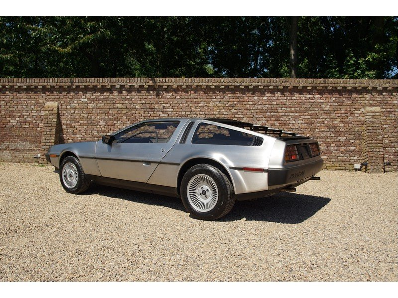 1981 DMC Delorean 3 owners, fully documented, only 16.904 miles,  For Sale (picture 2 of 6)