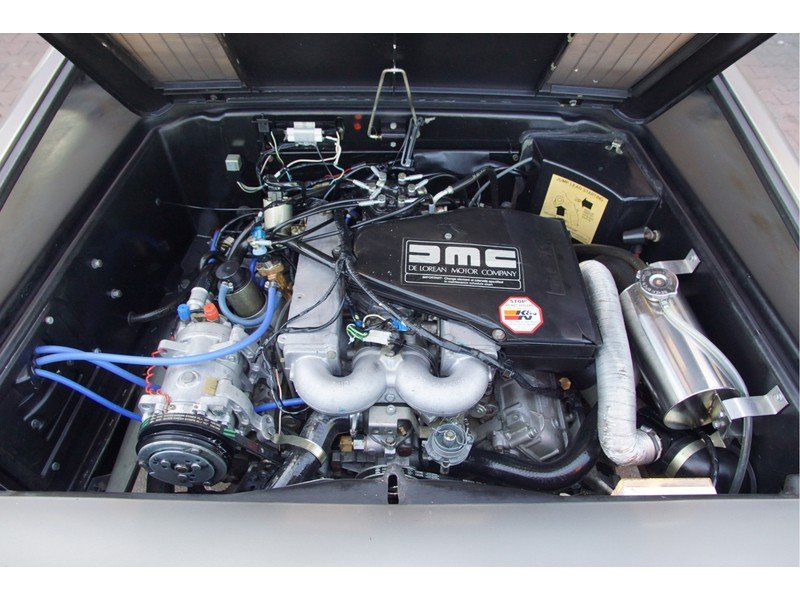 1981 DMC Delorean 3 owners, fully documented, only 16.904 miles,  For Sale (picture 4 of 6)