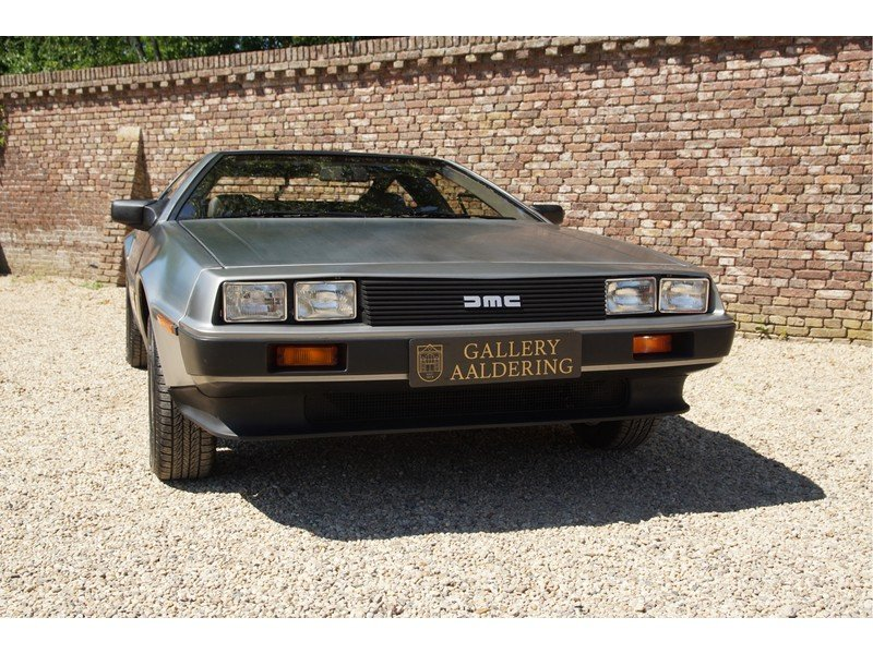 1981 DMC Delorean 3 owners, fully documented, only 16.904 miles,  For Sale (picture 5 of 6)