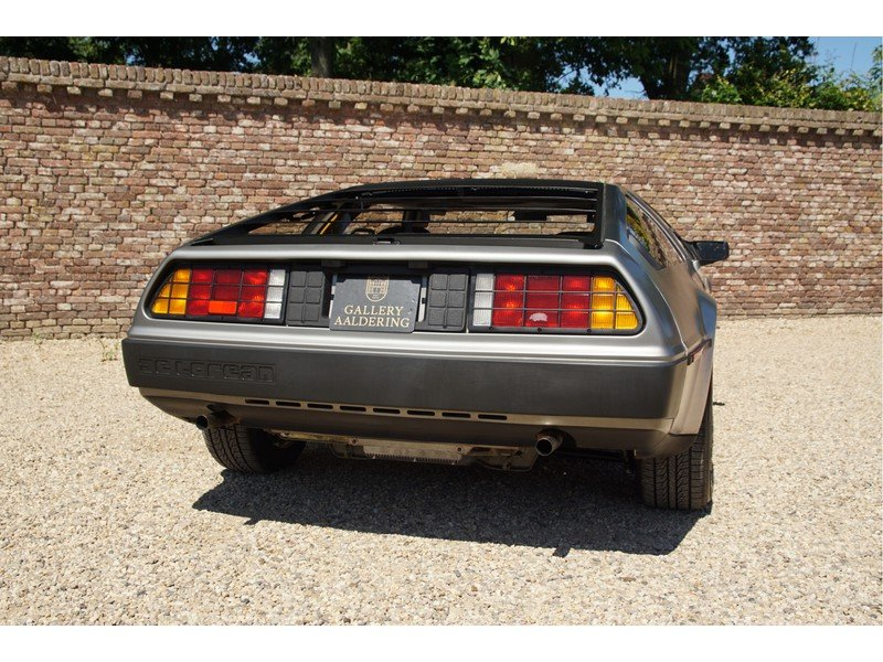 1981 DMC Delorean 3 owners, fully documented, only 16.904 miles,  For Sale (picture 6 of 6)