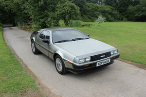 1981 EXCELLENT, ORIGINAL DELOREAN DMC-12