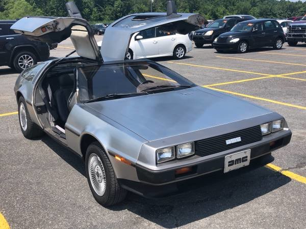 1982 DMC-12 DeLorean = 29k miles New Clutch Manual $29.5k For Sale (picture 1 of 6)