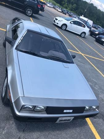 1982 DMC-12 DeLorean = 29k miles New Clutch Manual $29.5k For Sale (picture 2 of 6)