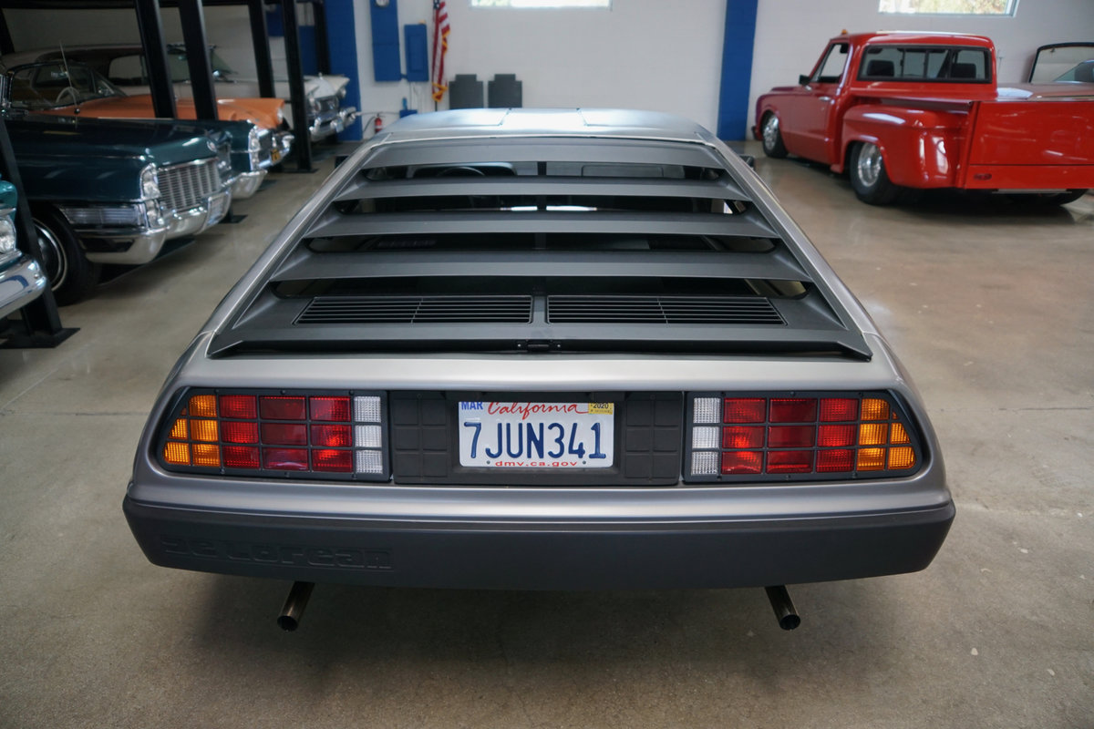 Orig Calif 1981 DeLorean Gullwing Coupe with 16K orig miles SOLD (picture 4 of 6)
