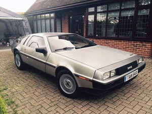 1981 DeLorean DMC-12 12 Sep 2019