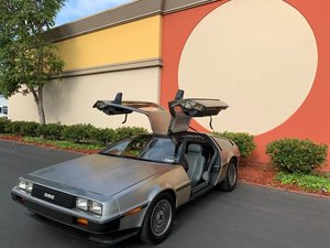 1981 DeLorean DMC-12  Manual only 14k mles Clean driver $42.5k