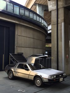1981 DeLorean DMC-12, Black int., Manual, Gas flap