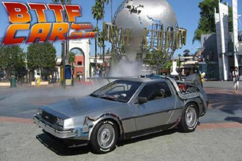 1981 Delorean Time Machine Hire from Back to the Future For Hire (picture 2 of 6)