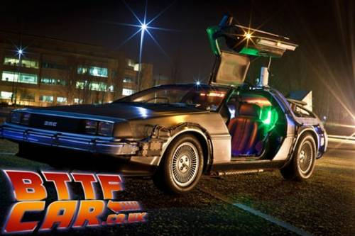 1981 Delorean Time Machine Hire from Back to the Future For Hire (picture 3 of 6)