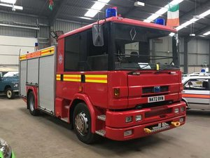 1996 Dennis Sabre Fire Engine at Morris Leslie Auction 25th May SOLD by Auction