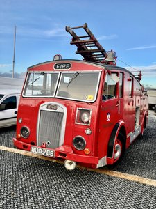 1951 DENNIS F12 FIRE ENGINE      Offered at No Reserve!!!
