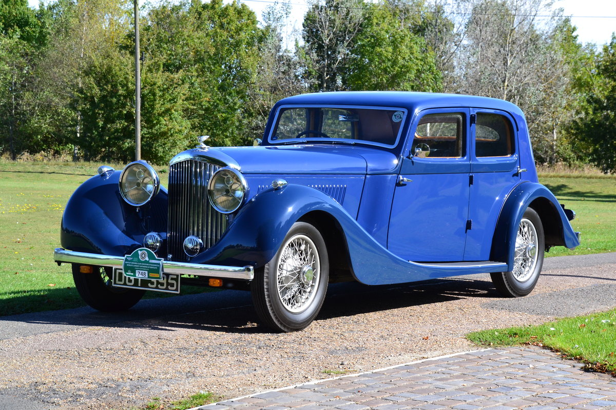 1936 Bentley 4 ¼ litre For Sale (picture 2 of 6)