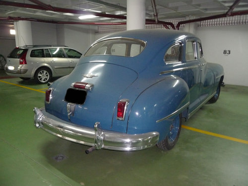 DeSoto Custom Fluid Drive 1947 For Sale (picture 4 of 6)