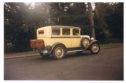 1929 DeSoto 4DR Sedan For Sale (picture 2 of 3)