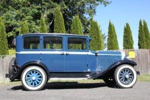 1929 Desoto 4 Door sedan = clean Blue(~)Grey driver $14.9k For Sale (picture 2 of 6)