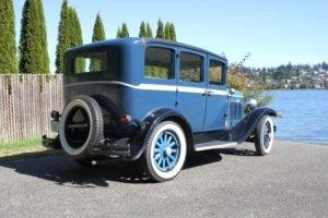 1929 Desoto 4 Door sedan = clean Blue(~)Grey driver $14.9k For Sale (picture 3 of 6)